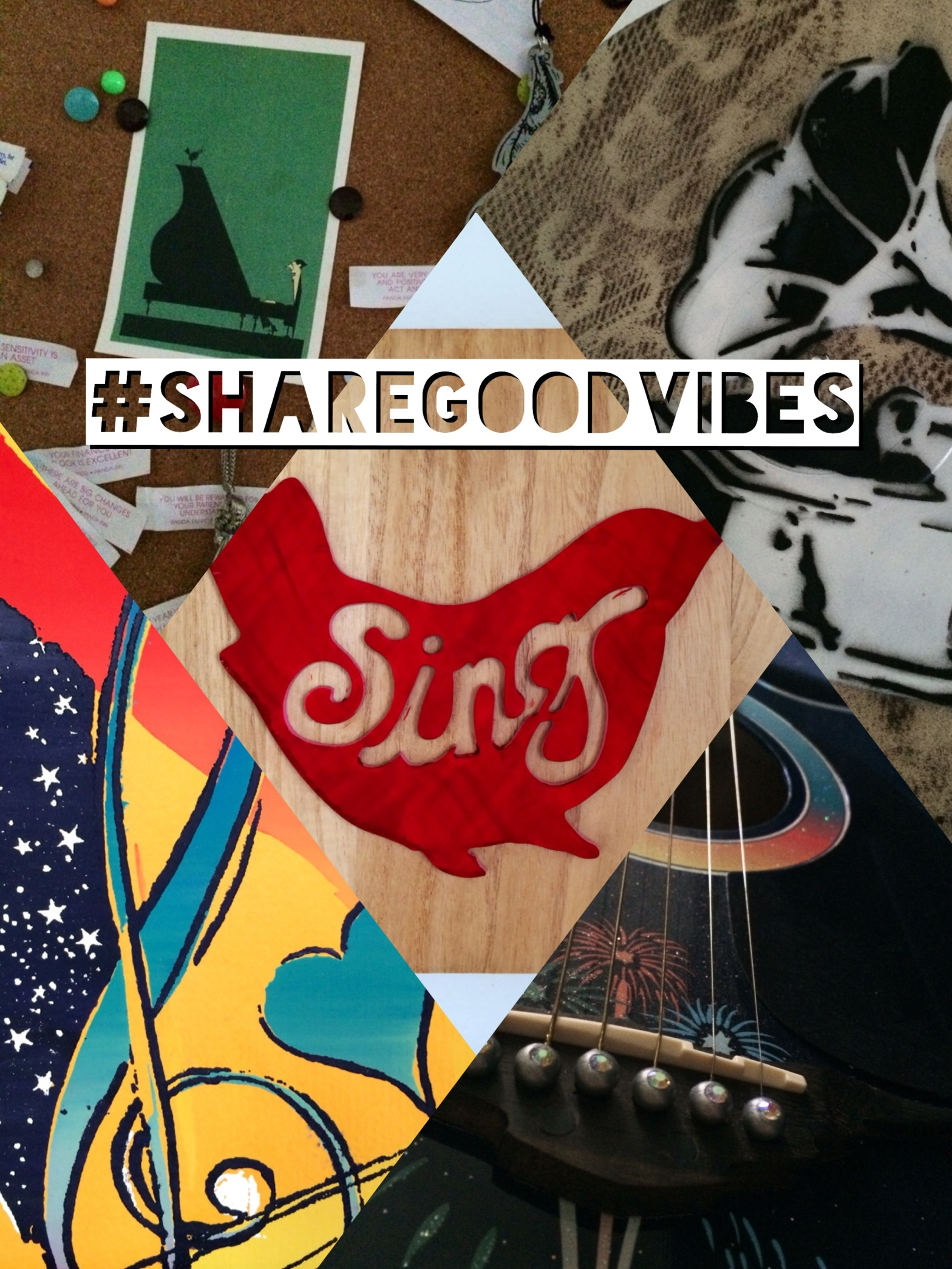 Sing - Share Good Vibes