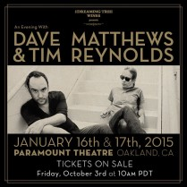 An Evening with Dave Matthews & Tim Reynolds