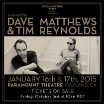 An Evening with Dave Matthews & Tim Reynolds