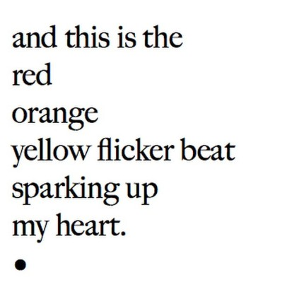 Yellow Flicker Beat