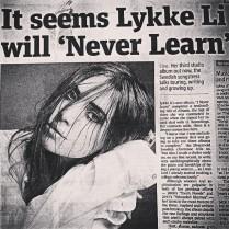from Lykke Li