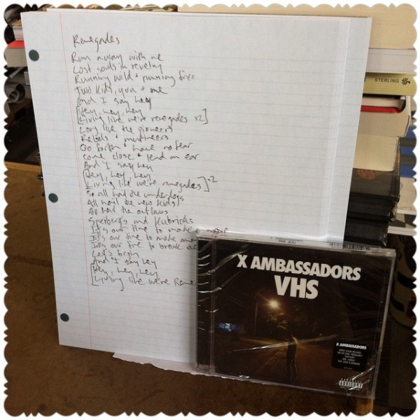 """xambassadors debut album, """"VHS"""" is out today and we're"""